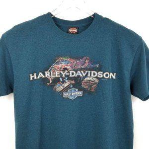 Harley-Davidson Motor Cycles Mens Graphic T-Shirt